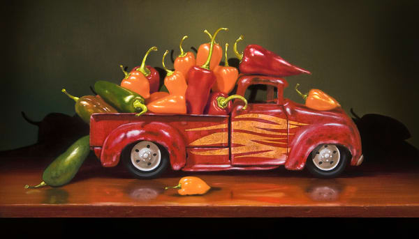 Hot Rod Art | Richard Hall Fine Art
