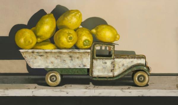 Lemon Limo Art | Richard Hall Fine Art