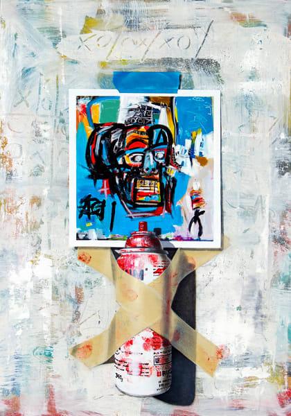 Jean Michel Was Here Art | Richard Hall Fine Art