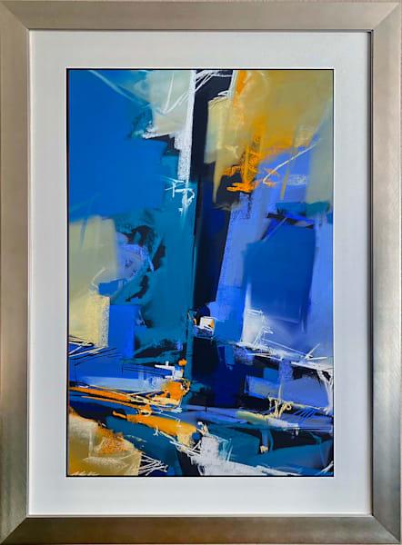Serendipity In Blue Art | Michael Mckee Gallery Inc.