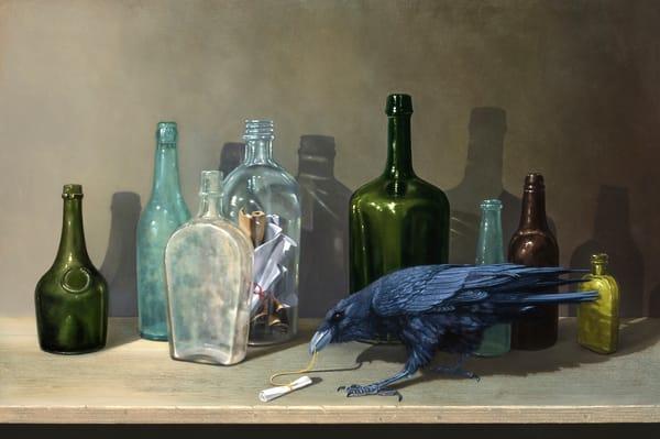 Message In A Bottle Art | Richard Hall Fine Art