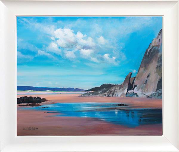 Three Cliffs Gower Original Artwork