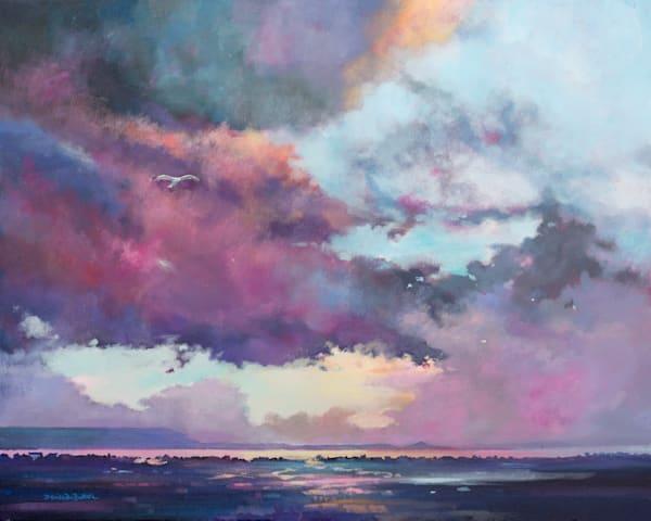 Coastal Dark Skies Original artwork