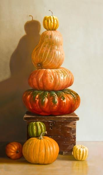 Pumpkin Pileup  Art | Richard Hall Fine Art