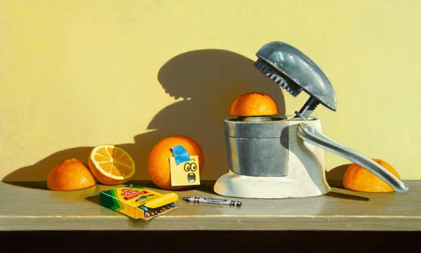 Orange Crush Art | Richard Hall Fine Art