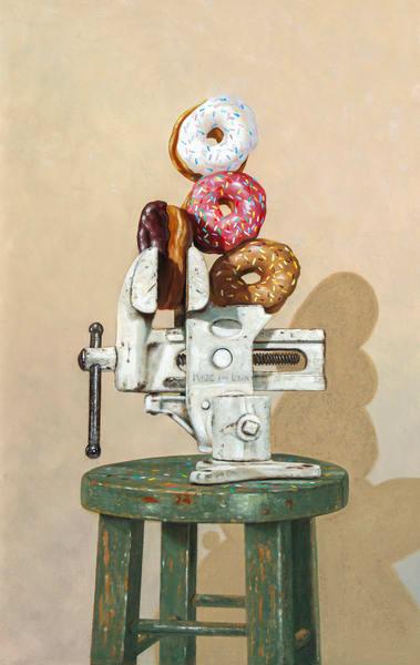 One Of My Vices Art | Richard Hall Fine Art