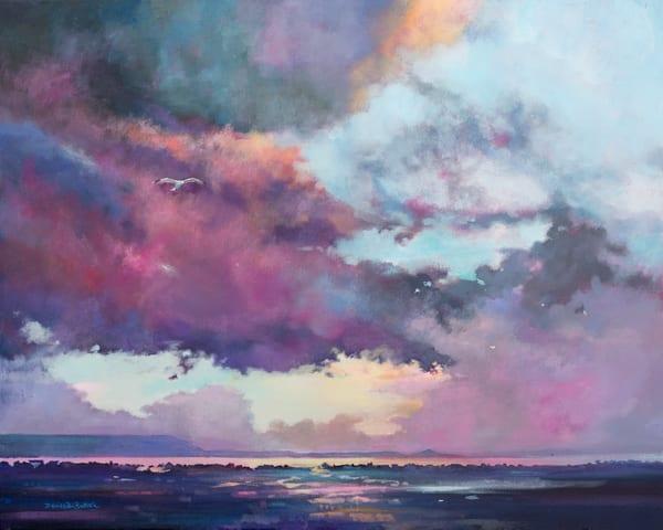 Dark Skies Coastal Art Print