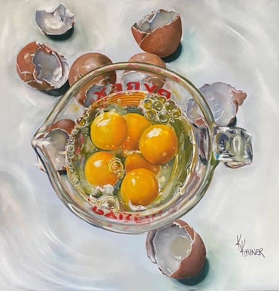 """Measured Eggs"" by Food Artist Kristine Kainer"