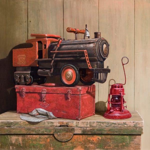 Riding The Rails Art | Richard Hall Fine Art