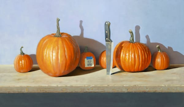 Pumpkin Predicament Art | Richard Hall Fine Art