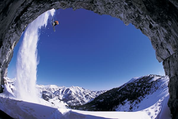 Dan Treadway, Caridac Cave, Jackson Hole Backcountry, WY