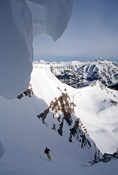 Central Couloir, Todd Jones