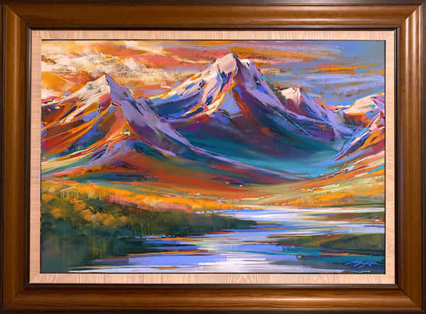 Mountain Light Art | Michael Mckee Gallery Inc.