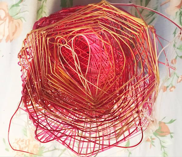 Heart Art1   Love Nest, 2020 Art | Artist Rachel Goldsmith, LLC