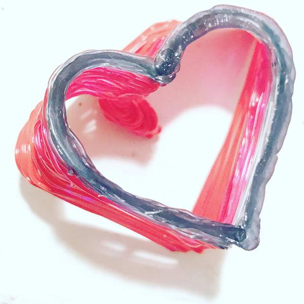 Heart Art2   Heart Stack, 2021 Art | Artist Rachel Goldsmith, LLC