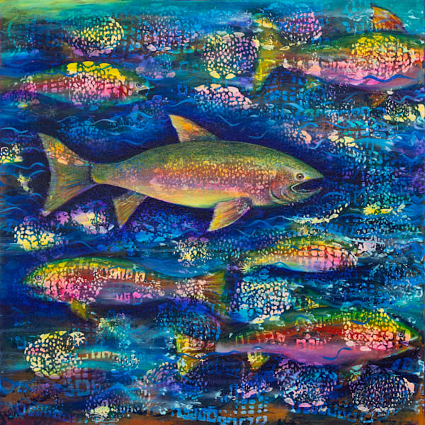Rainbow Trout Art | darzart