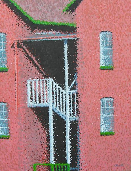 The Back Stairs Art | Jim Pescott Art