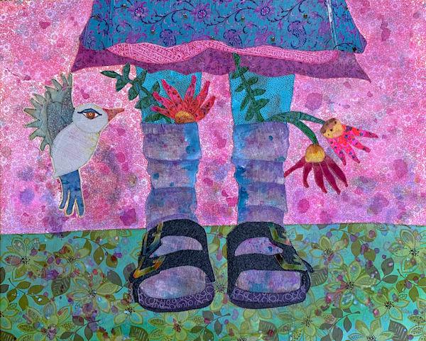Birkenstocks, socks and skirts