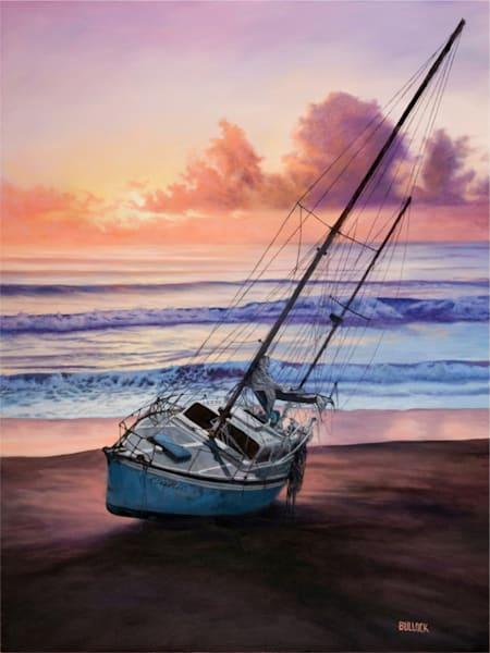 Beached, Oil by Michiel Bullock