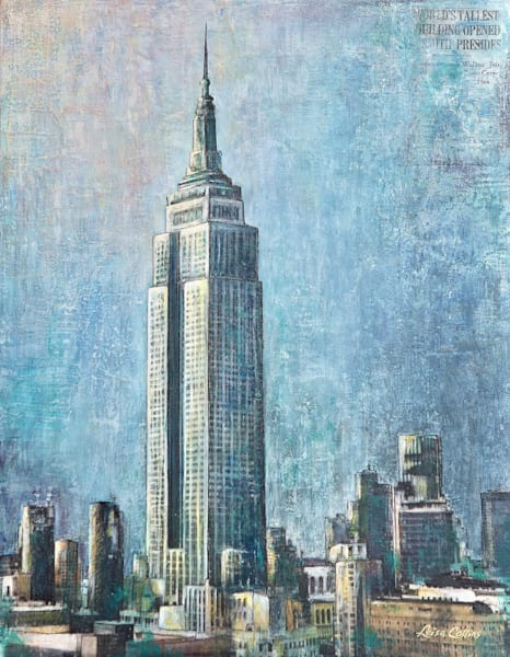 Empire State Building, Nyc Art | Leisa Collins Art
