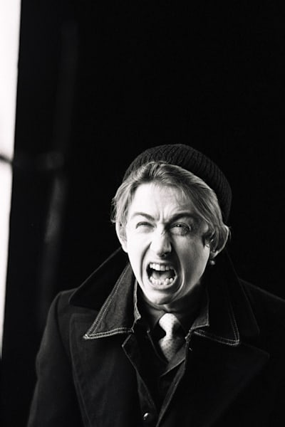 Mark Hollis of Talk Talk in the Such A Shame video