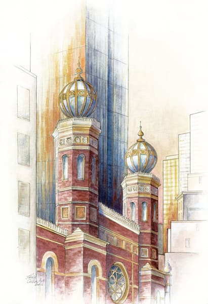 New York City: Fusion Of Old And New  Art | Leisa Collins Art