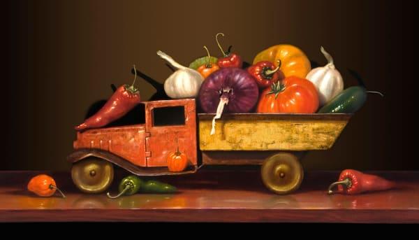 Salsa Fresca Art | Richard Hall Fine Art