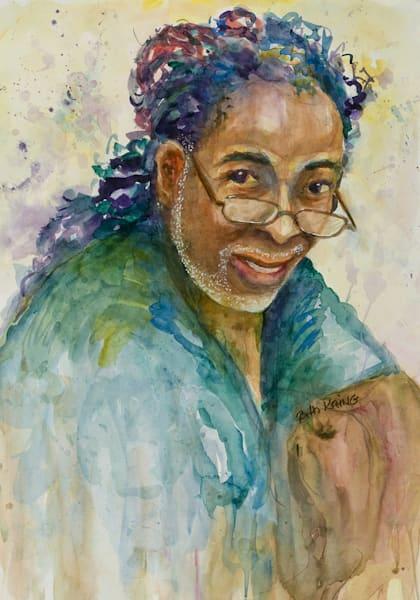 Beth Kring, Jamaica Mon, Watercolor