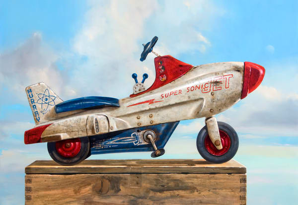 Sky Rider Art   Richard Hall Fine Art