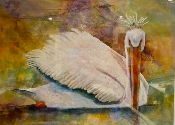 Linda Schuler, Bathing Beauty, Watercolor