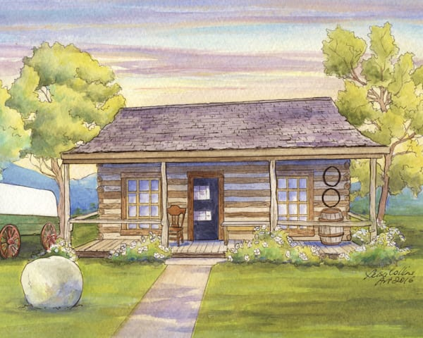Fargo North Dakota First Home In State Art | Leisa Collins Art