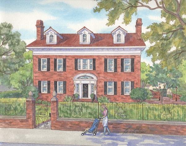 Charleston South Carolina Mother And Child Art | Leisa Collins Art