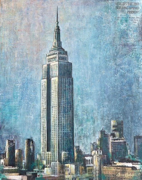Empire State Building Nyc Art | Leisa Collins Art