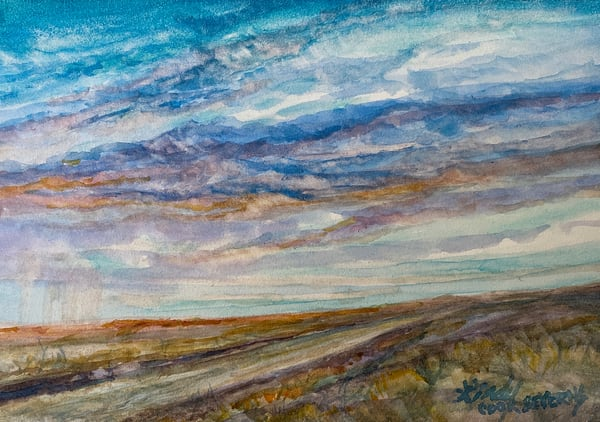 Lindy Cook Severns Art | West Texas Horizon, print