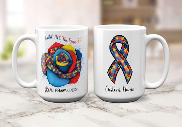 Autism Awareness - Until All The Pieces Fit Mug