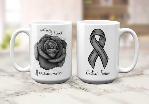 Aphasia Warrior Mug
