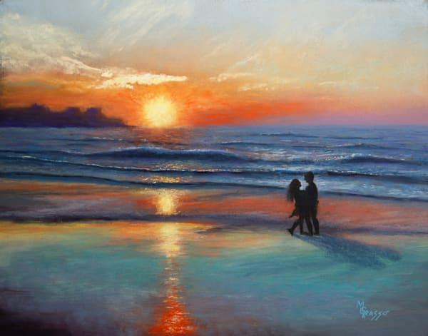 Hampton Beach Sunrise   Original Art | Mark Grasso Fine Art