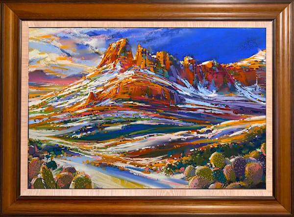Sonoran Snow Art | Michael Mckee Gallery Inc.