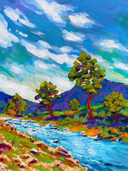 Rugged Back Country  Art   Charles Wallis