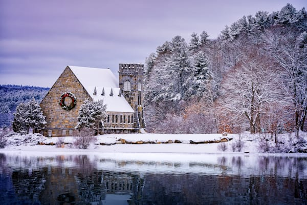 Winter at the Old Stone Church | Shop Photography by Rick Berk