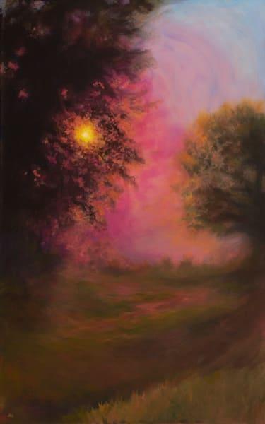 Top Of The Hill Sunrise Art | darzart
