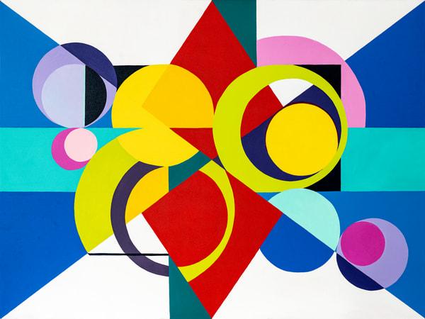 Harmonic Vibration Four Art | Debra Wuliger