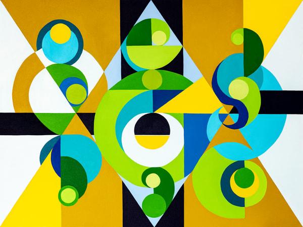 Harmonic Vibration Eleven Art | Debra Wuliger