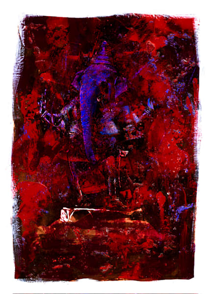Ganesha 01 Original Art Art | Omaha Perez Art