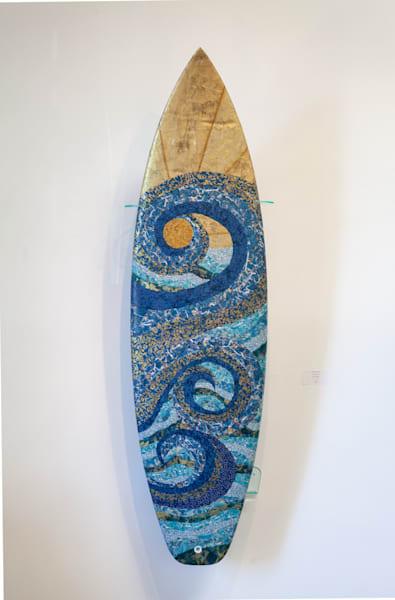 Mosaic Curls Art | Kichaven Art