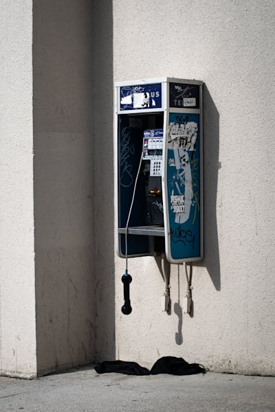 Tom Weager Photography - Death of the payphone