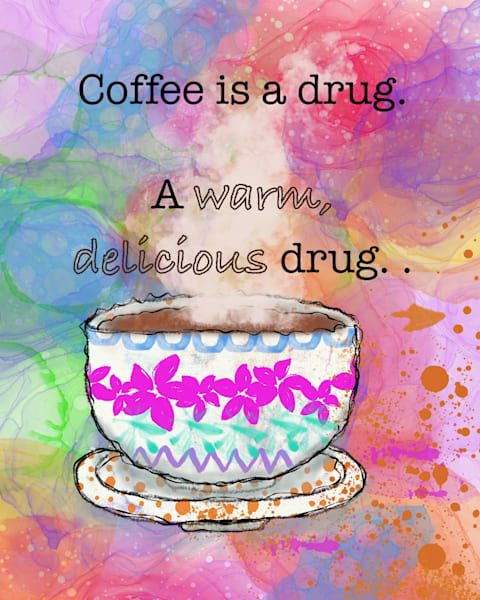 Coffee Again Art | Lynne Medsker Art & Photography, LLC