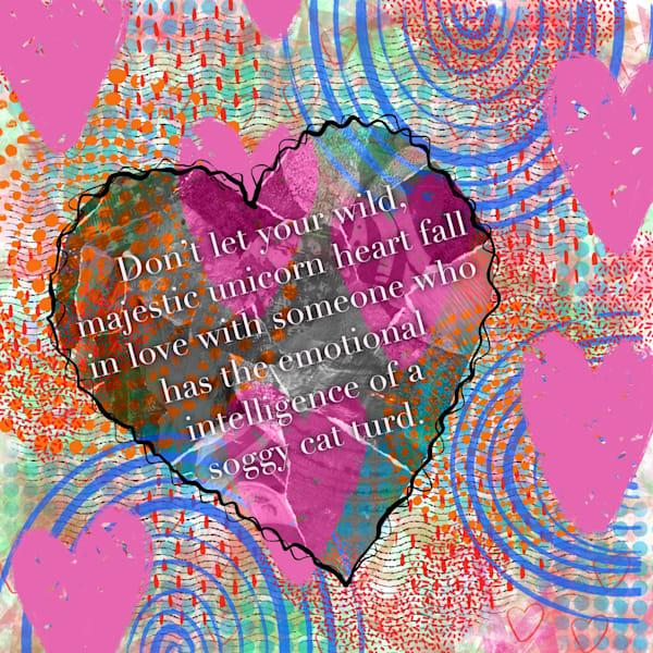 Unicorn Heart Art | Lynne Medsker Art & Photography, LLC
