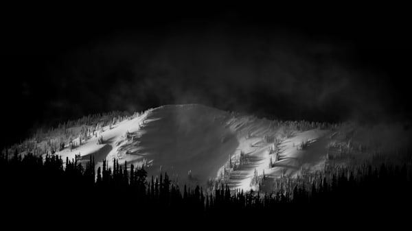 Tom Weager Photography - Ecstacy Ridge at Whitewater ski hill