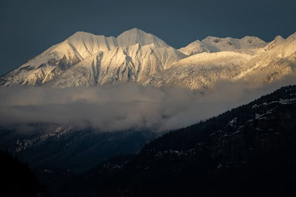 Tom Weager Photography - Purcell mountains in the afternoon light